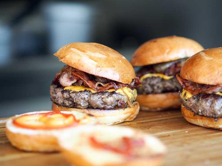 are hamburgers vegan