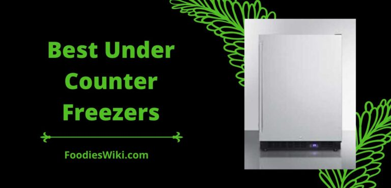 best under counter freezers